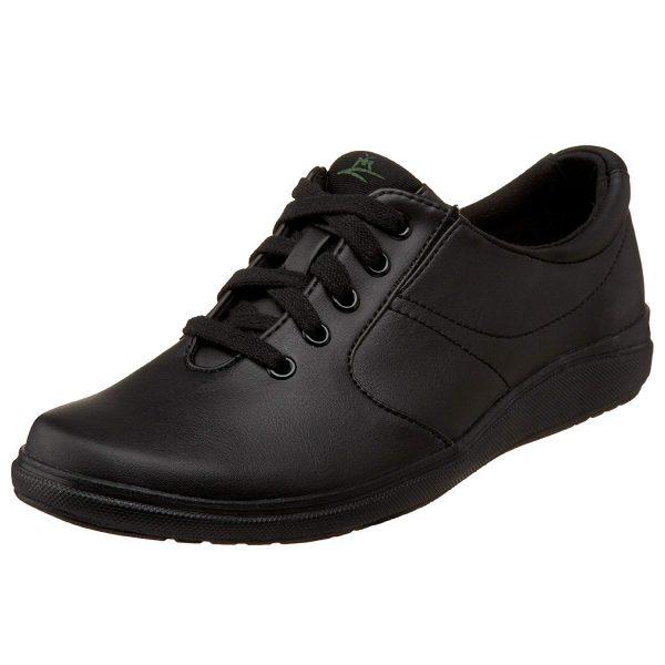 Grasshoppers Simple black Cute Lace Up Shoes For Nurses