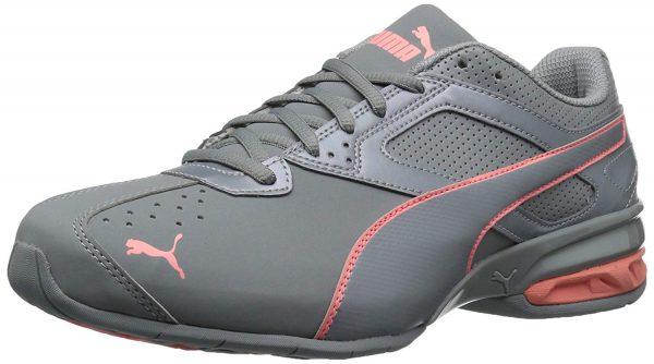 grey red nursing sneakers PUMA Women's Tazon 6