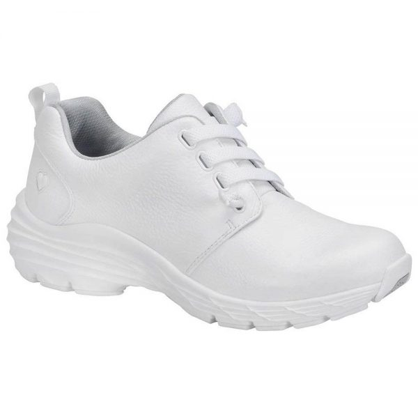 nursing shoe in white cute patterns