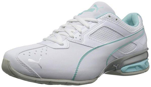 white blue nursing sneakers PUMA Women's Tazon 6