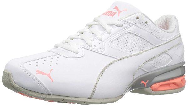 white orange nursing sneakers PUMA Women's Tazon 6