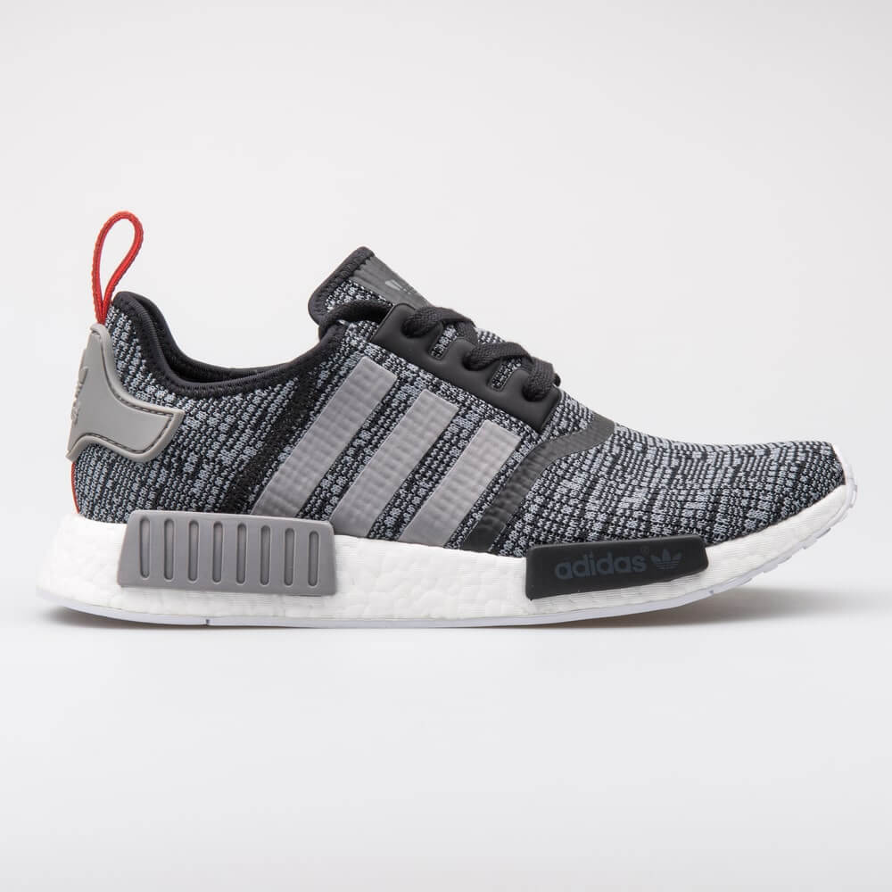 Adidas NMD R1 black and grey sneaker